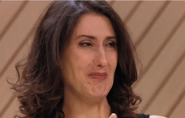 Paola chora no Masterchef (Foto: Reprodução)