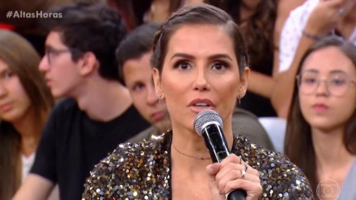 Deborah Secco no Altas Horas (Foto: Divulgação)