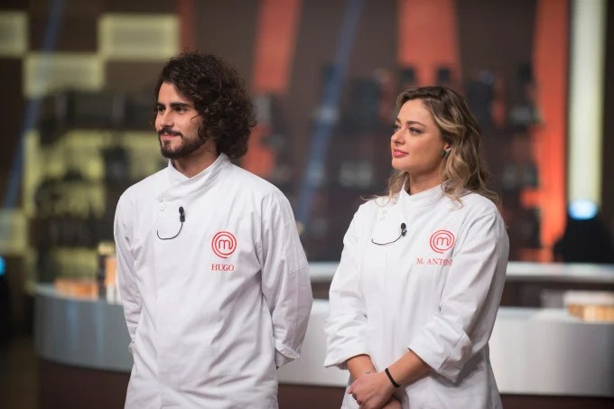 Hugo e Maria Antônia duelaram na final do MasterChef na Band