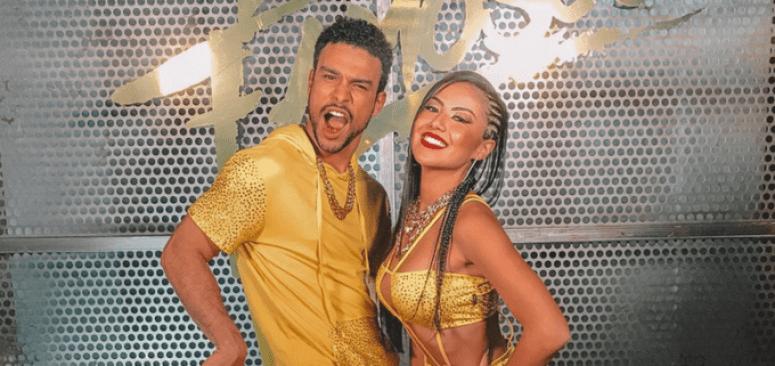 Sérgio e a nova bailarina. (Foto: Divulgação/TV Globo)