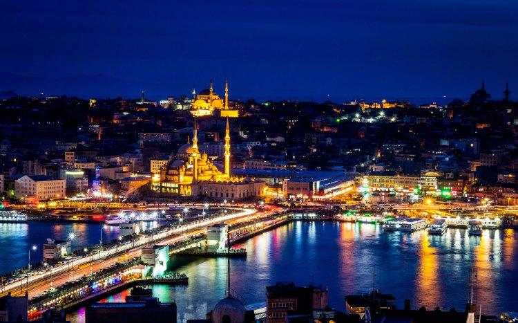 nouvel an istanbul au bord du Bosphore