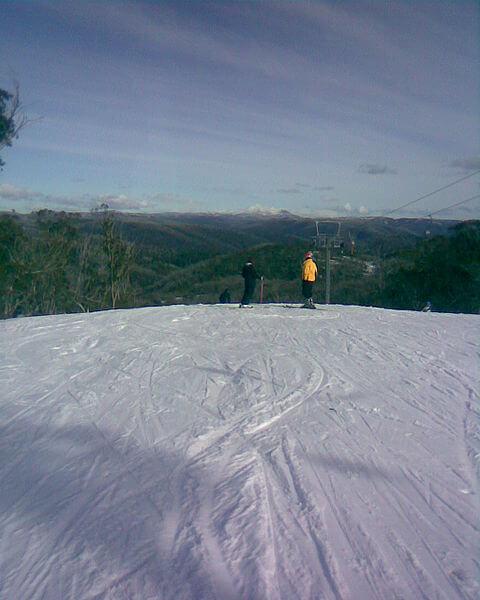 Piste de ski à Selwyn Snowfields