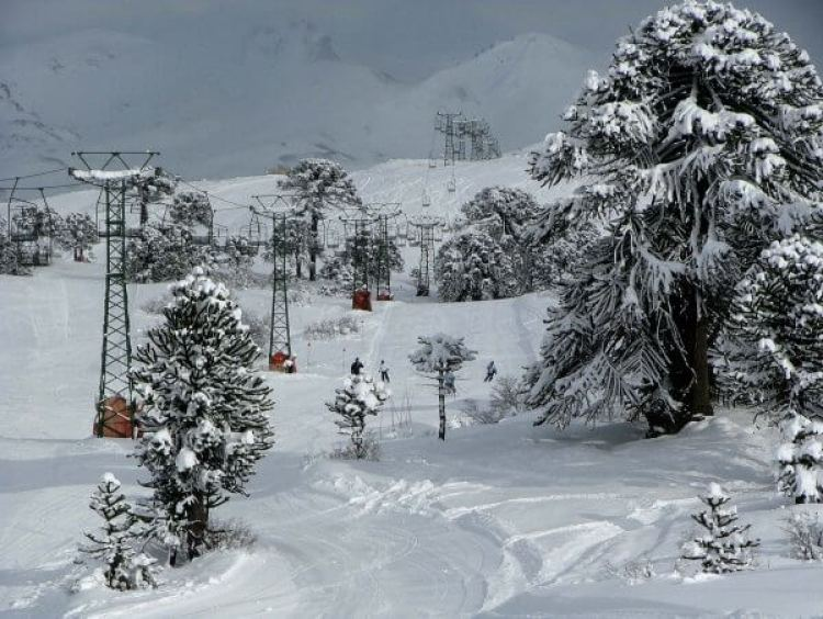 La station de ski de Caviahue