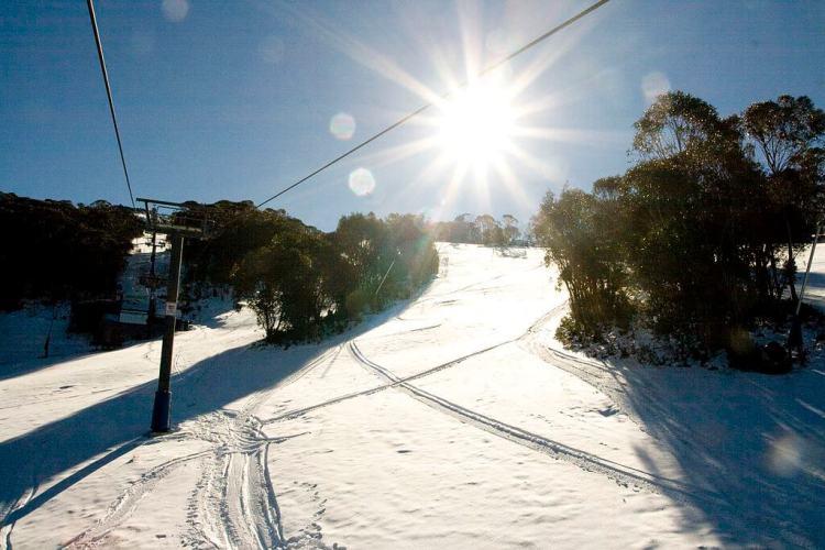 Le domaine skiable de Thredbo
