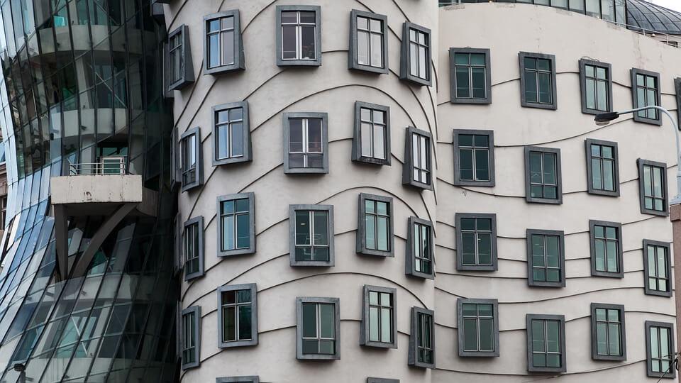Architecture insolite à Prague