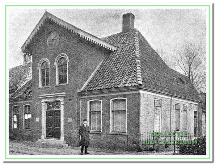 Het oude raadhuis aan de Rijksstraatweg.