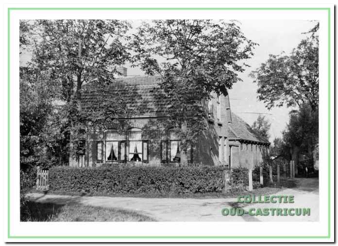 Het huis van Jaap Welboren op de hoek van de Eerste Groenelaan en de Kooiweg 6.