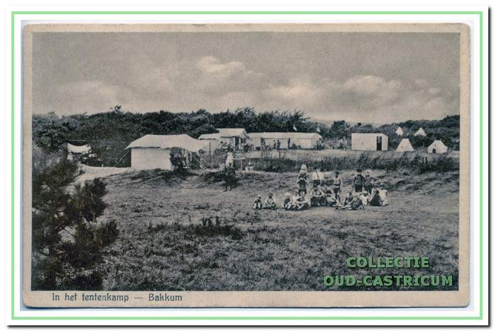 Kamperen op Bakkum anno 1932.