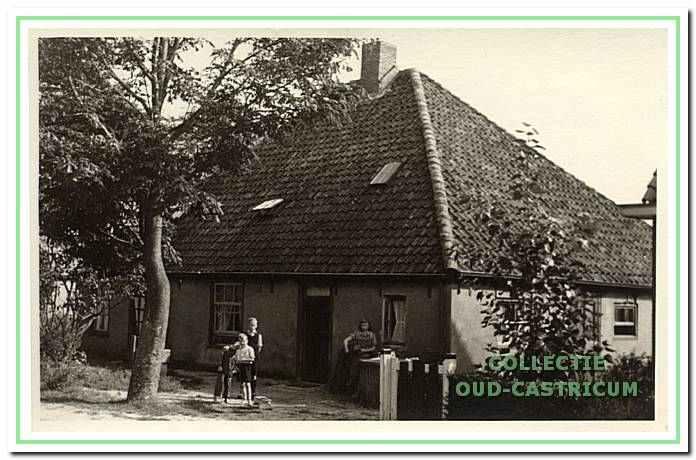 De boerderij van de familie Lute (nr 3).