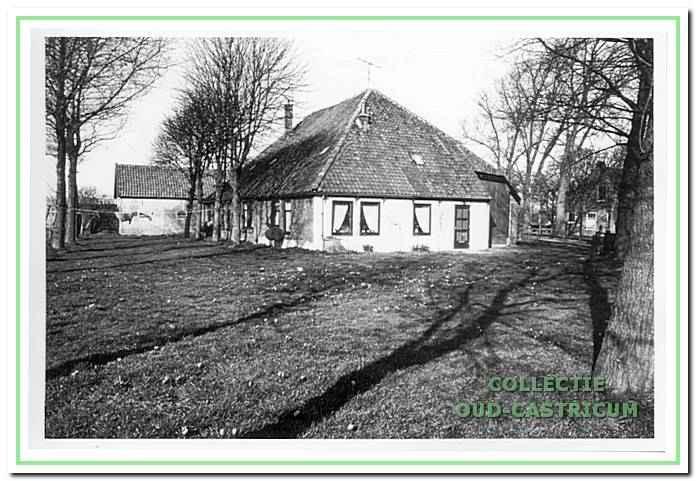 Het woongedeelte van de boerderij aan de Breedeweg 77.