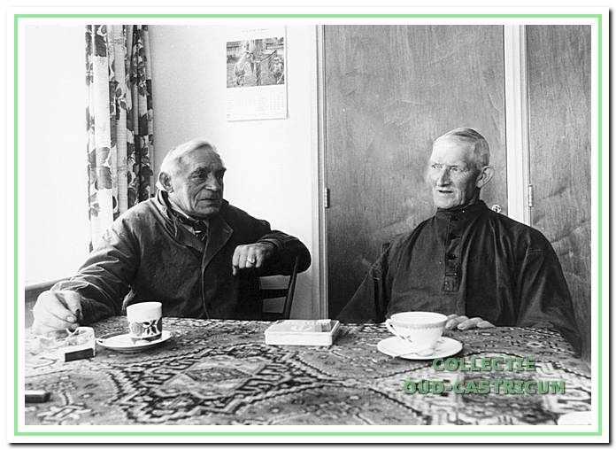 Henk Twisk en Klaas Veldt.