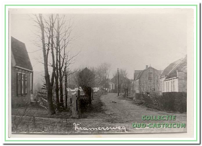 Oude foto van de Kramersweg 6 in Castricum.