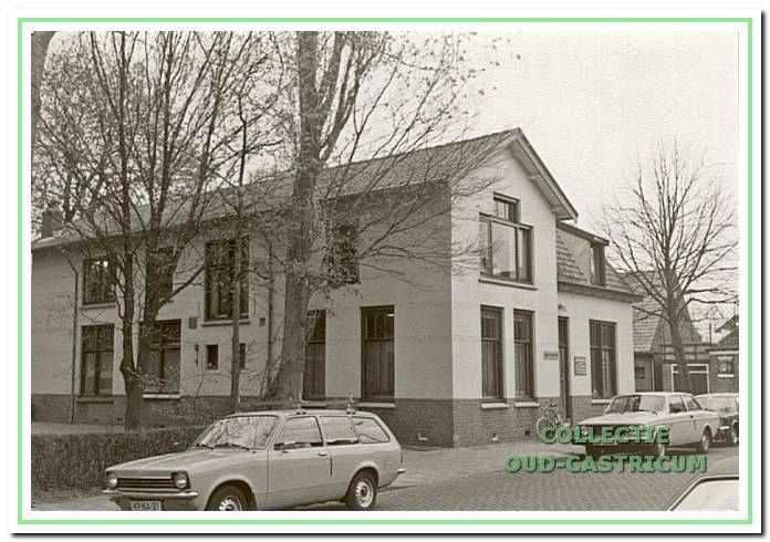 Voormalig Armenhuis, Overtoom 40-54 in Castricum.