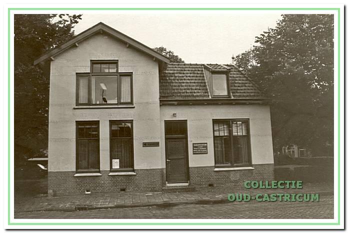 Voormalig Armenhuis aan de Overtoom 14 in Castricum.