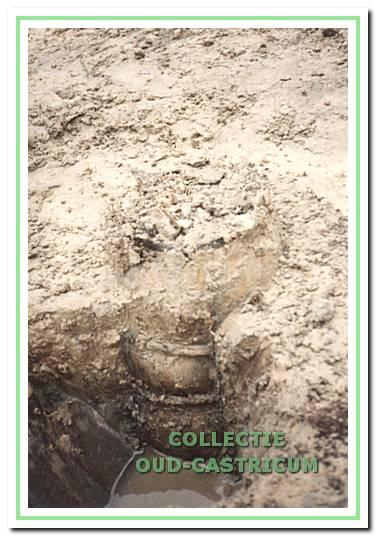 Opgraving Rietkamp 22 januari 1994.