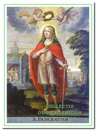 Schilderij van de Heilige Pancratius.