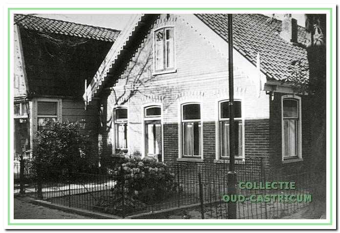 Het huisje van Pieter Mooij.