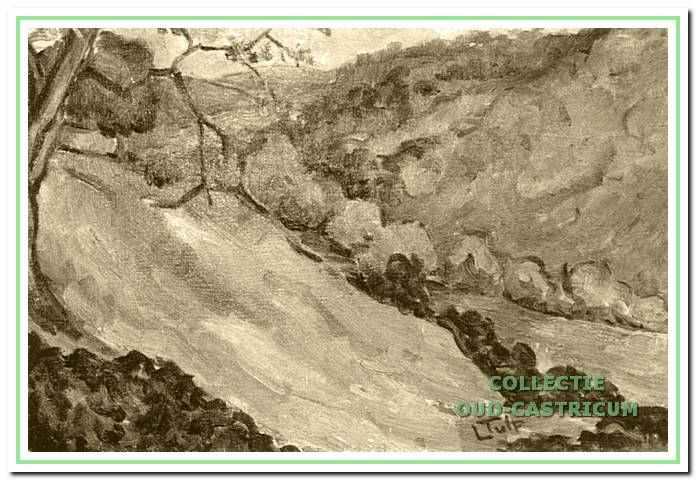 Schilderij van Lide Tulp.
