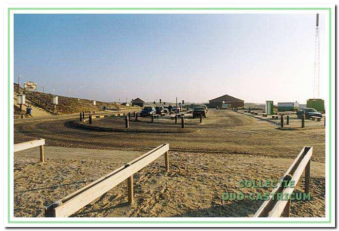 et strandplateau. Zeeweg, Castricum aan Zee, 1999.