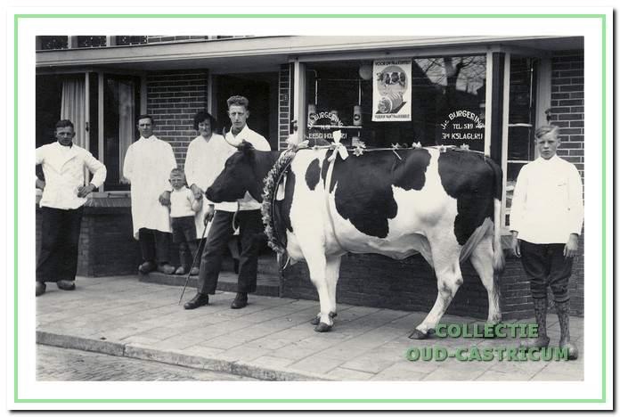 De slagerij van Jacob Burgering floreerde lang aan de Bakkummerstraat 91.