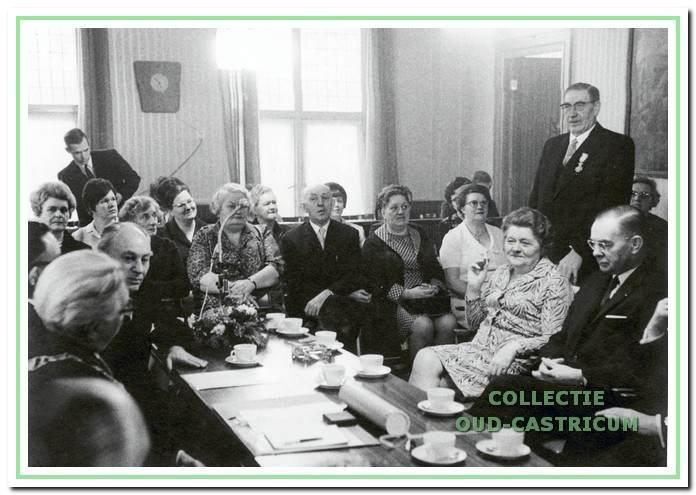 Gré Jacobs werkte nauw samen met haar partijgenoot Gerrit Meijer, raadslid en wethouder tussen 1946 en 1970.
