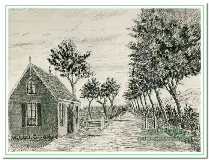 Tolhuis bij Castricum, Kramersweg 35 in 1890