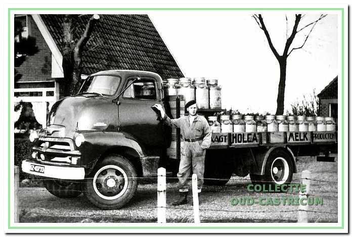 Melkrijder voor De Holland van het transportbedrijf Maarten Meijer uit Limmen.