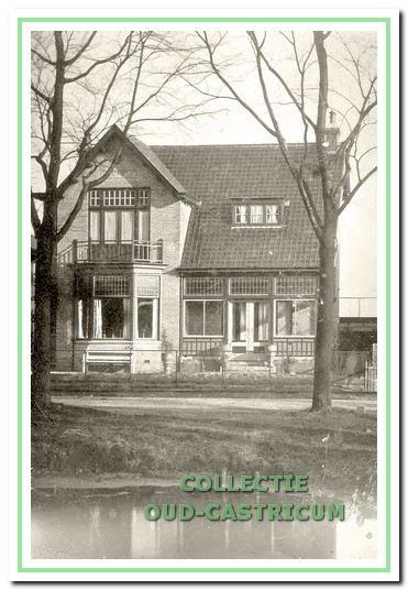 Huize Elizabeth, Dorpsstraat 7, omstreeks 1920.