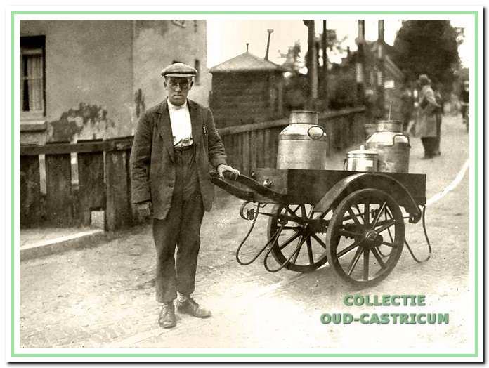 Cor Castricum was een van de eerste melkboeren in Bakkum en handelde later in petroleum.