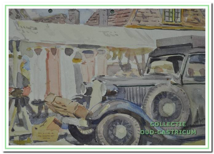 De Markt, 1951.