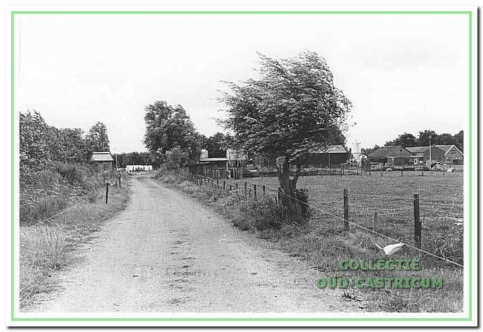 Het Jan Miessenlaantje in Bakkum.