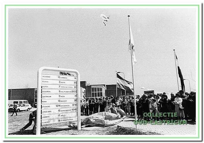 Opening van het bedrijventerrein de Castricummerwerf.