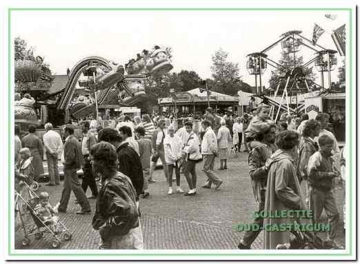 Kermis op De Brink in 1990.