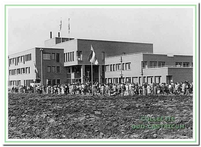 Opening van het nieuwe raadhuis, Raadhuisplein 1 in Castricum.