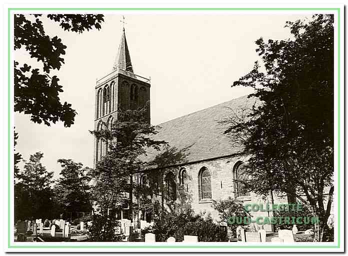 De oude Pancratiuskerk in Castricum.