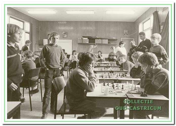 Jeugdschaken in Castricum.