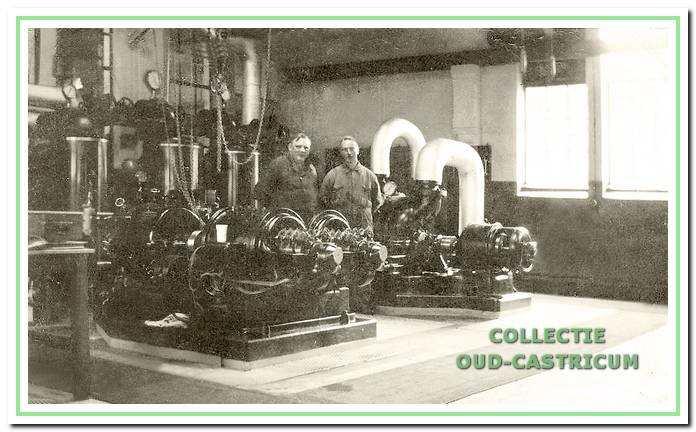 De elektriciteitscentrale van Duin en Bosch.
