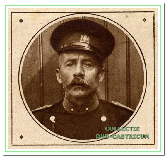 Ariën Gorter, rijksveldwachter van 1909 tot 1932.