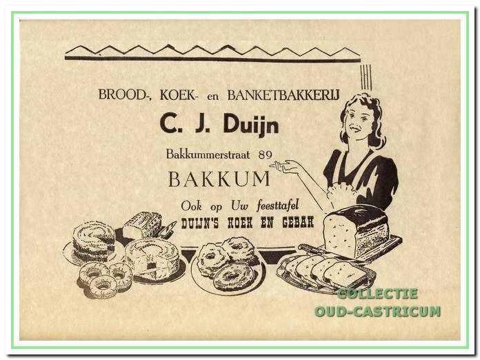 Het papier van Duijn, waarin zijn producten werden verpakt.