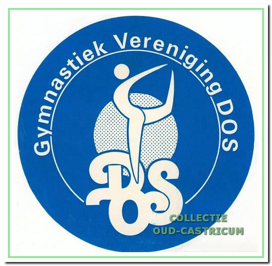 Logo van Gymnastiek Vereniging DOS.