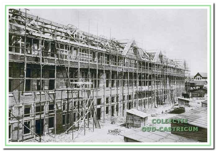 Duin en Bosch te Bakkum, in aanbouw rond 1908.
