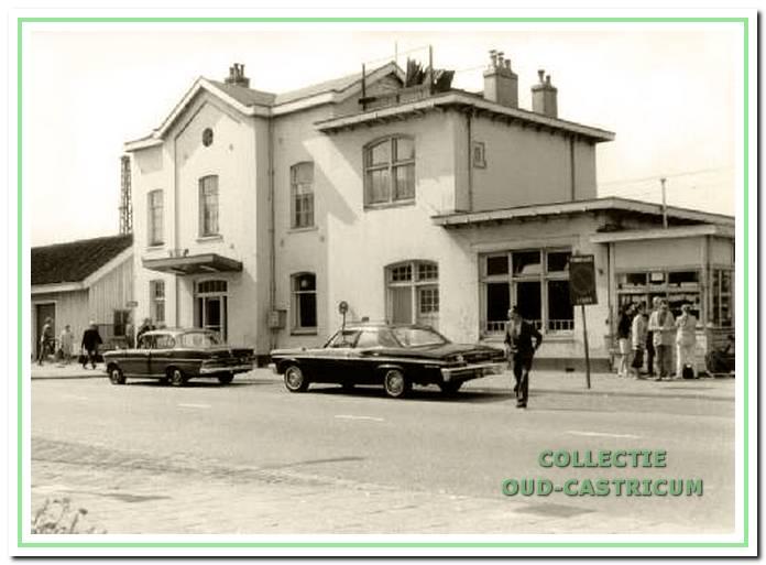 Het station in 1969, dat nu spoedig gesloopt zou worden.
