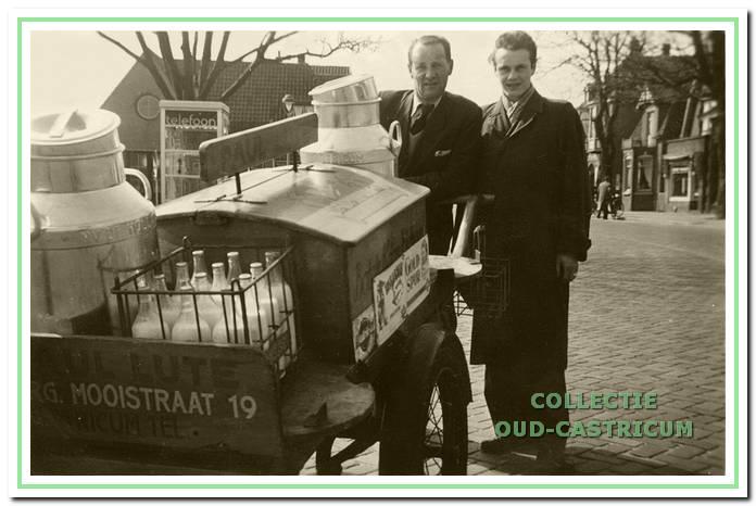 Paul Lute (rechts) was verpleger, melkslijter en werkte in de horeca.