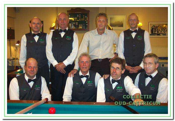 Het KNBB-team van De Doorschieter in het seizoen 2006-2007.