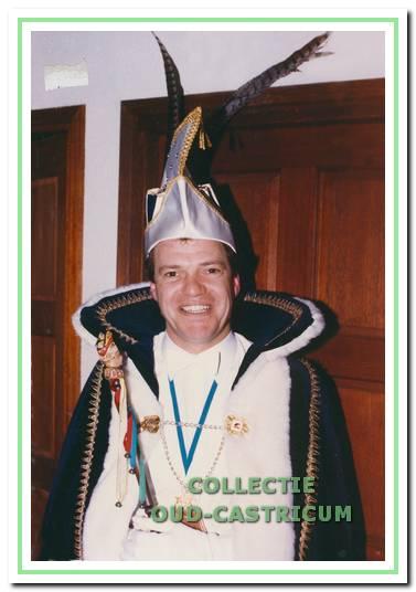 Prins Dokus (Theo Lute) die in 1986 terugkeerde als prins Gahoz.