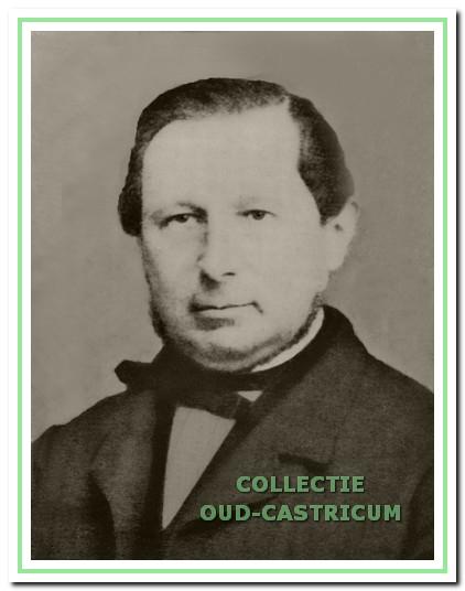 Hermanus Zaalbetg, burgemeester van Castricum in 1868 en 1869.