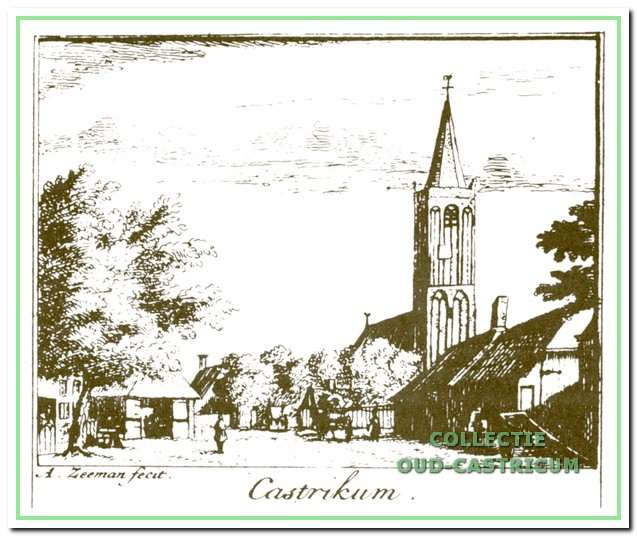 Castricum in vroeger tijden.