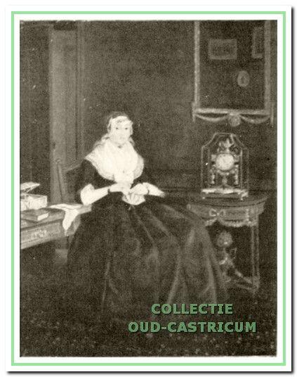 Portret van Cornelia Lieveloo, weduwe van Pieter van der Nolle Sr, eigenaresse van Zeeveld.
