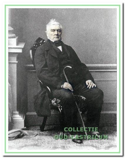 Jacob Rendorp van Marquette op latere leeftijd (1795-1879).