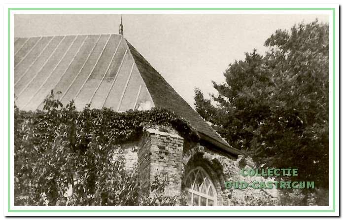 Het koor aan de zuidzijde voor 1953.